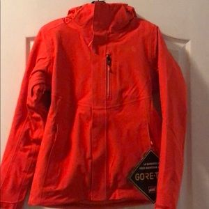 Extra small The North Face Coat Fire Brick Red.